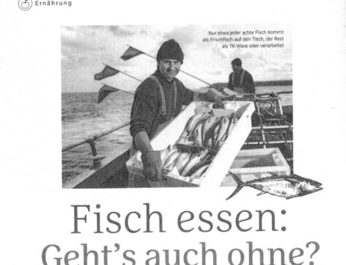 Fisch essen: geht's auch ohne?